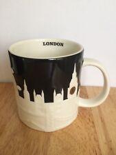 Starbucks London Black Relief City Collectors Mug 414ml 14 FL Oz