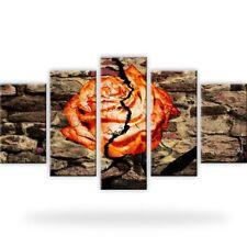 Rose Abstrakt Mauer Leinwandbilder Digitalart Mehrteilig