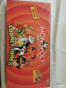Looney Tunes Rare Monopoly (2003 Collector's Edition) factory sealed