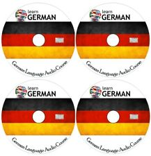 Learn to speak GERMAN - Complete Language Training Course on 4 AUDIO CDs