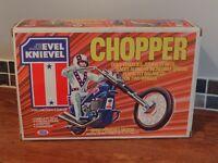 VINTAGE EVEL KNIEVEL CHOPPER 1970s IDEAL TOYS! MEGA RARE! L@@K!