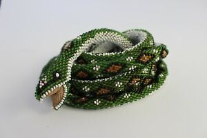 Beaded Snake Made By An Ottoman Prisoner Of War