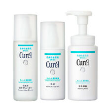 Curel Intensive Moisture Care Lotion Iii Enrich + Face Milk + Foaming Wash
