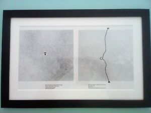 VICTOR PASMORE – FRAMED L/E SHEET FROM 'BURNING WATERS' PUBLISHED MALTA 1988