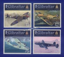 Postfrische Briefmarken aus Gibraltar mit Luftfahrt-Motiv