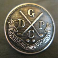 1911 DAVYHULME PARK GOLF CLUB H/M SILVER BUTTON 23MM DIAMETER