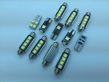 BMW X3 E83 2003-2010 FULL LED Interior Lights 12 pcs SMD Bulbs White Error Free
