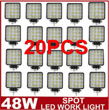 20PCS 48W SPOT LED Off road Work Light Lamp 12V 24V car boat Truck Driving JEEP