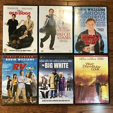 Robin Williams Dvd Lot What Dreams May Come Rv Big White Old Dogs Patch Adams +