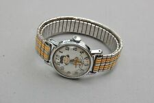 Lucy Peanuts Wrist Watch Vintage Charles Schultz Character Not Run Hands Move
