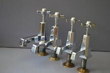 MATCHING CHROME BATH & BASIN  TAPS ART DECO ANTIQUE RECLAIMED, FULLY REFURBISHED