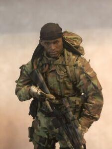 1/6 rare Tears of the Sun Navy Seal Recon Team sniper Damtoys 93014
