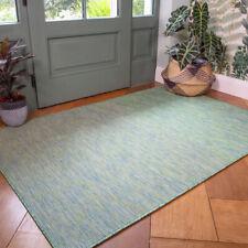 Mint Green Outdoor Rug Plastic Washable Rugs Water Resistant Garden Patio Rug