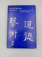Art and Morality by Kitaro Nishida - HC - (1973, U of Hawaii)