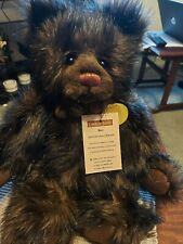 """Charlie Bears Anniversary Edward 2011 Once Upon a Time Coll 17"""" Ltd Ed 6000"""