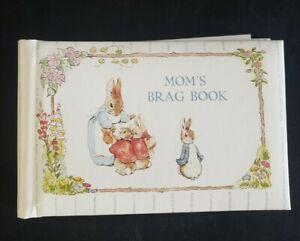 Beatrix Potter Peter Rabbit Mom's Brag Book Photo Album,C.R.Gibson,US Made 1990