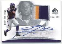 2007 SP Authentic #295 Sidney Rice Vikings Jersey /399 (RC - Rookie Card) AUTO