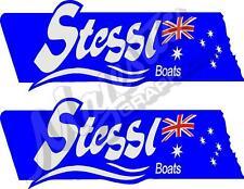 STESSL - 450mm x 160mm X 2 - BOAT DECALS