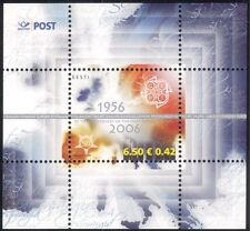 Estonia 2006 Europa Stamps 50th Anniversary/CEPT/Map/Animation 1v m/s (n34836)