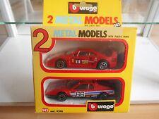 Bburago burago 2-pack Ferrari in Red in Box (1)
