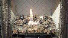 Vent-Free Logs, Monessen Charred Oak, Manual Control, 24 inch, Natural Gas