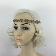 Vintage Wedding Bridal Crystal Rhinestone Headband Headpiece 1920s Hair Band