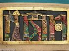 BALINESE CEREMONIAL WOOD CARVED WALL ART HANGING WOODEN CARVING BALI 50CM