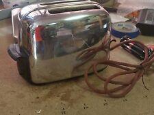Toastmaster Automatic Pop-Up Chrome & Bakelite Toaster 1B14 Retro