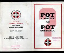 """AULNAY-sous-BOIS (93) ECREMEUSES & MACHINES à TRAIRE """"SURGE MELOTTE"""" TRACT"""