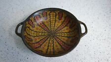 Liberty & Co RARE Early Gouda Pottery Bowl Made in Holland London Two Handle