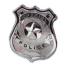 Police Badge Cops Good Guys Heroes Props Hen Nights Fancy Dress 22710