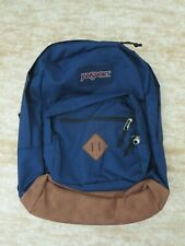 JanSport City View Backpack Field Navy with 15 inch Laptop Sleeve