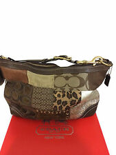 COACH PATCHWORK SHOULDER HANDBAG F12842