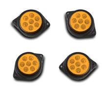 Set 4 24V 7 SMD LED Gelb Seitenblinker lichter-lkw Iveco Volvo Scania Mercedes