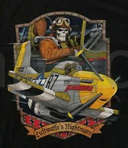 """OLE"" Exterminator Luftwaffe's Nightmare B51 Fighter Bomber Airplane T-Shirt"