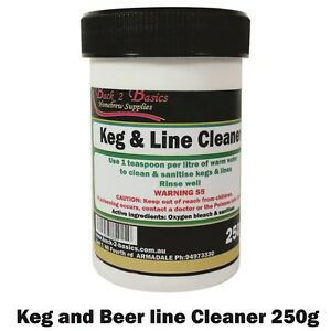 Keg & Beer Line Cleaner 250g heavy duty cleaner - For the home brew hobbyist