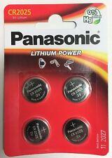 Panacr 2025-B4 al litio Panasonic confezione Da 4 BATTERIE moneta cella CR2025