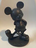 Figurine Statue Mickey  MK Effet Bronze 30cm 11,80 Inch Disneyland Paris  New