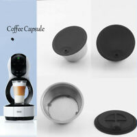 Stainless Steel Refillable Coffee Filter Capsule Pod For DOLCE GUSTO EDG Lumio