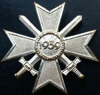 ✚7281✚ German Army War Merit Cross First Class medal post WW2 1957 pattern ST&L