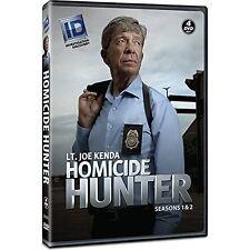 Homicide Hunter: The Complete Season 1 & 2 Dvd (4-Dvd Set) US SELLER New