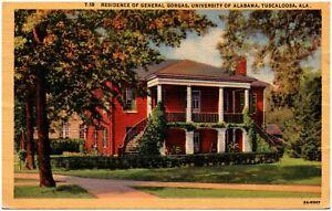 Tuscaloosa Alabama Postcard  General Gorgas House, University Of Alabama #84515