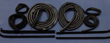 1973-1979 FORD FSERIES PICKUP TRUCK RUBBER DOOR SEALS RUN CHANNELS & SWEEPS KIT