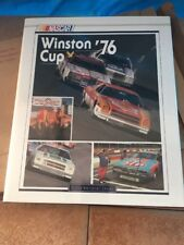 1976 NASCAR  Winston Cup Yearbook with original box  UMI Publications