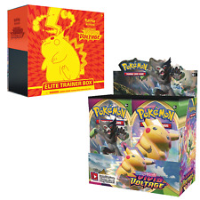 PRESALE Pokemon Vivid Voltage Booster Box + Elite Trainer Box Combo