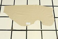 "Stunning ""Country Inn"" Beige Scrap Leather Hide Approx. 5 sqft. Q2Z10-7"