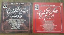 JIMMY SAVILES'S TIME TRAVELS 20 GOLDEN HITS OF 1963 AND 1964 RARE.