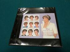 Vintage Princess Diana - Nevis Memorial Stamp Sheetlet from Mystic Stamp Co