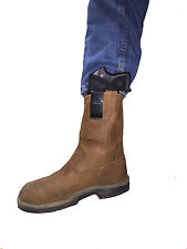 Concealable Gun  Holster for your boot fits Medium Frame 380, 9MM,.40, .45 Guns