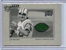 2000 FLEER GREATS OF THE GAME JOE NAMATH JERSEY CARD, NEW YORK JETS, 072218